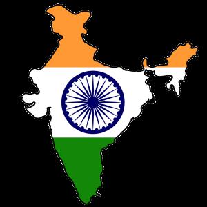 india_flag_map